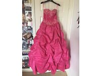 Prom/bridesmaid dress, pink and sparkly