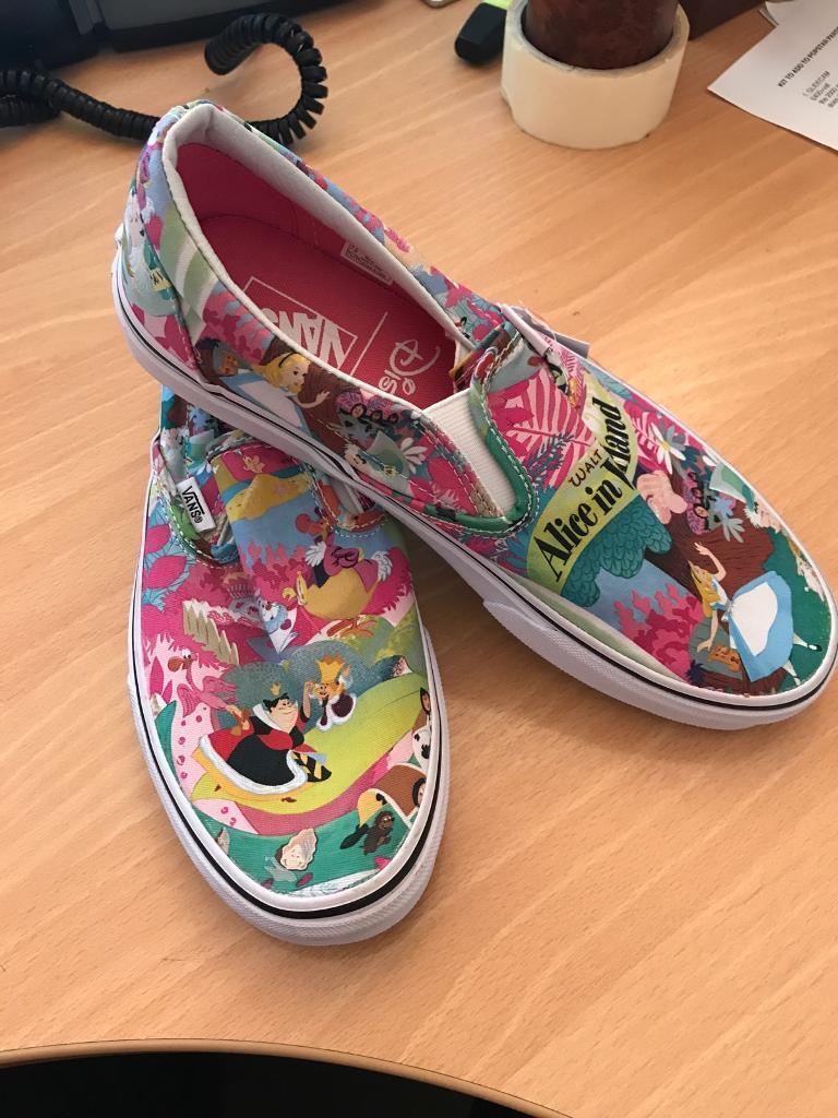 e5f748ae04 Disney Vans Slip On shoes size 7