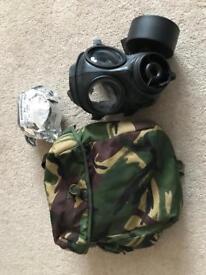 Old military respirator