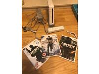 Nintendo wii boxed with games