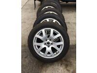 """19"""" alloys & tyres 255/50R19 Land rover"""