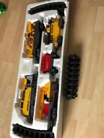Cat construction express train set