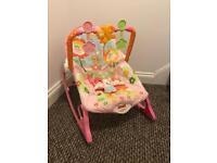 Fisher Price Infant-toToddler Rocker (pink)
