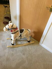 childs rocking horse in new condition