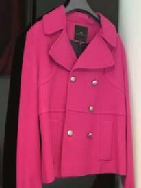 Gorgeous River Island size 12 coat in pink! Never been worn! £15