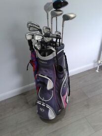 FULL SET BEAUTIFUL ACER GOLF CLUBS + NICE FAZER GOLF BAG + LOADS EXTRA see description, see all ads.
