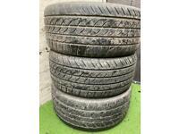 """22"""" Part worn tyres 285/35/22"""