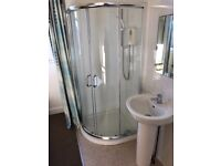 Shower screen set and matching sinks