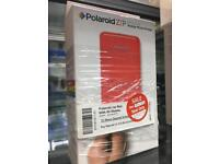 Polaroid Zip red mobile photo printer & 50 sheets paper
