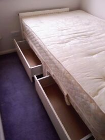 Storage bed 4ft double