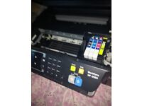 EPSON Printer FREE cartridges.Prints in colour, also. Nearly new, great condition
