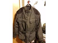 "Textile motorcycle jacket (medium, 46-48"")"