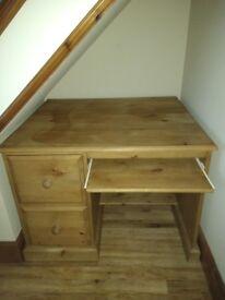 Beautiful pine desk