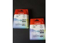 2 x Canon Pixma Multipack Ink