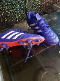 Adidas Boys football boots size 3