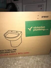 Victoria Plumb back to wall toilet