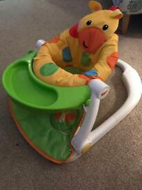 Fisher price baby feeding seat
