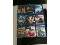 41 blueray films.