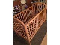 Cosatto baby cot mint condition