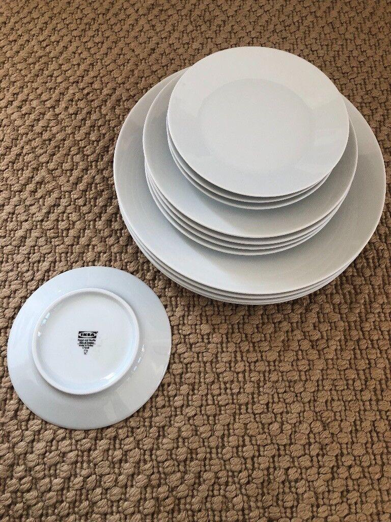 Wonderful Ikea 365 18 Piece Dinnerware Set White Pictures - Best ...
