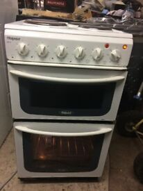 **HOTPOINT**ELECTRIC COOKER**50CM**GOOD CONDITION**COLLECTION\DELIVERY**NO OFFERS**HOTPOINT!!!