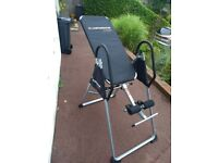 Foldable inversion table. Excellent condition