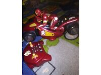 Iron man with remote control