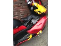 Stolen and damage Honda Pcx 125 bike for sale or as a parts