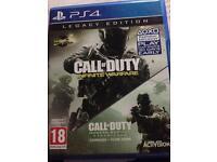 Call of duty infinite warfare *No Code* PS4