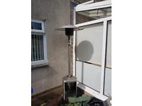 Enders Colsman AG. Gas Patio Heater Free standing and adjustable height.