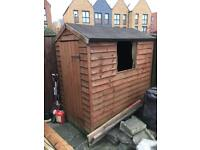 Garden Shed 6x4 ft