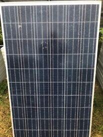 Solar Panels slight glass damage