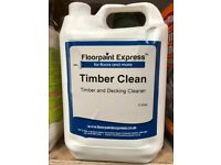 Deck and Timber Cleaning Solution
