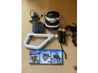 Playstation VR bundle and games