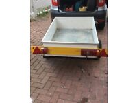 Car Trailer 4x3 with working lights