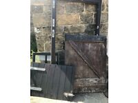 Stable door and frame
