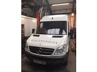 2012 MERCEDES-BENZ SPRINTER 313 CD1. ,1 OWNER FROM NEW,LONG WHEEL BASE, FULL SERVICE HISTORY