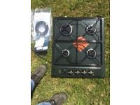 Algor fitted gas 4 hob burners new in box