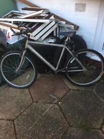 Adult Raleigh mountain bike with shimano gears
