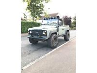Land Rover defender 90 200tdi conversion