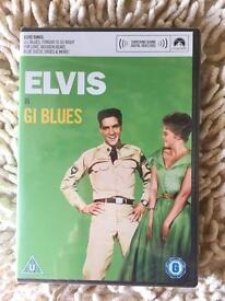 Elvis Presley in G.I Blues DVD. New