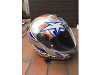Shark Full Face Motorcycle Helmet.