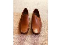 Ted Baker Tan Loafer Shoes - Size 9
