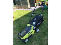 Ryobi Cordless Electric Lawnmower 36V L-Ion