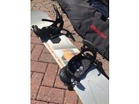Ride Decathlon 156 snowboard & Burton Mission Bindings