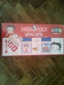Betty Boop Monopoly.