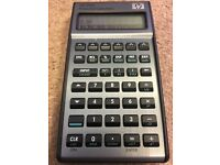 HP 17bII+ Financial Calculator with HP-branded magnetic clasp case