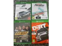 4 driving games Xbox one