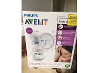 Avent Single Electric Breast Pump used - but very good condiions
