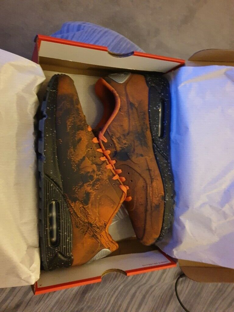 huge selection of 58479 769f8 Nike Air Max 90 Mars Landing trainers Size 11 UK with box